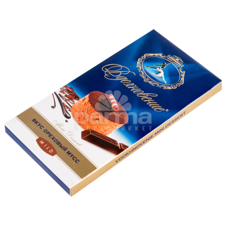 Շոկոլադե սալիկ «Вдохновение» ընկույզի մուսս 100գ