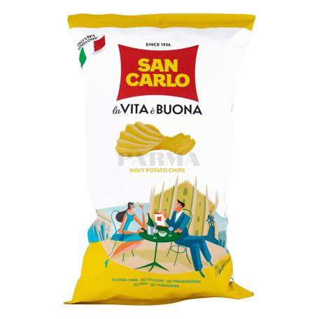 Չիպս «San Carlo la Vita è Buona» 180գ