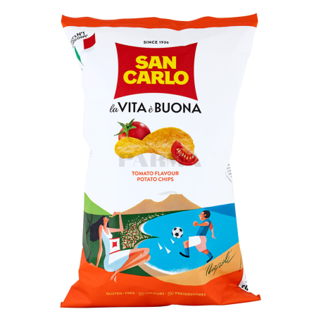 Չիպս «San Carlo la Vita è Buona» լոլիկ 150գ