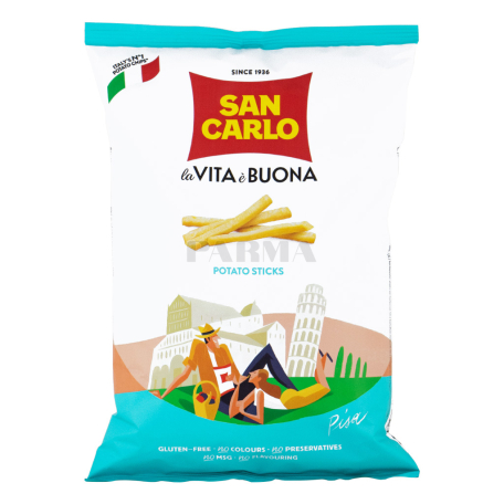 Չիպս «San Carlo la Vita è Buona» 175գ