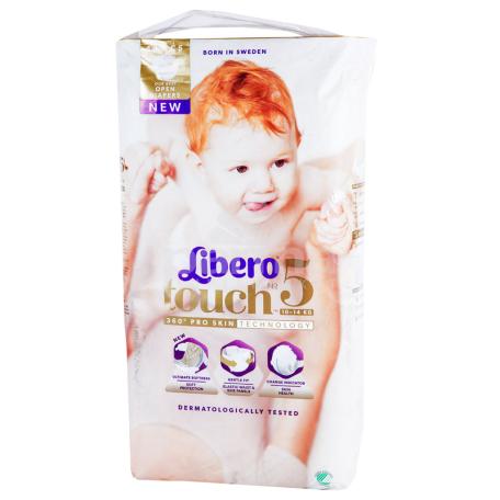 Տակդիրներ «Libero Touch» №5 10-14 կգ