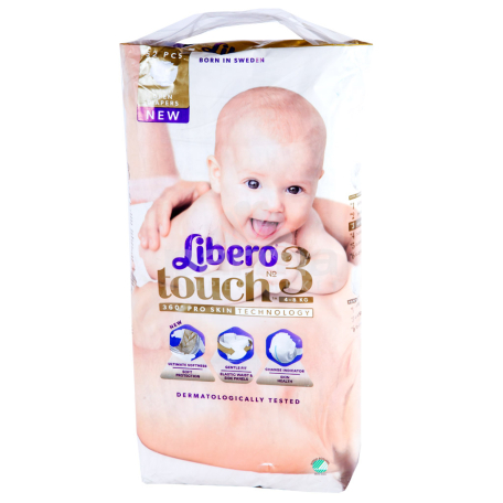 Տակդիրներ «Libero Touch» №3 4-8 կգ