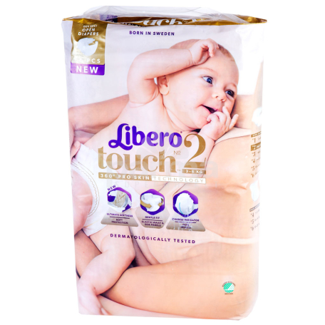 Տակդիրներ «Libero Touch» №2 3-6 կգ
