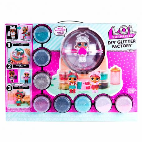 Խաղալիք «L.O.L. Surprise Diy Glitter Factory»