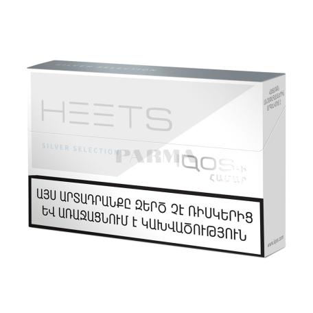 Տաքացվող ծխախոտի գլանակներ «Heets Silver Selection»