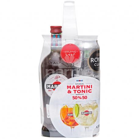 Վերմուտ «Martini Rosso» +tonic 500մլ