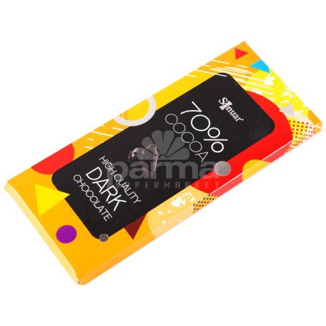 Շոկոլադե սալիկ «Sonuar» մուգ շոկոլադ 70% 90գ