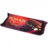 Շոկոլադե սալիկ «Roshen Classic» մուգ շոկոլադ, նուշ 90գ