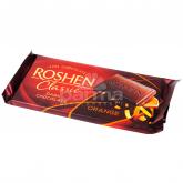 Շոկոլադե սալիկ «Roshen Classic» մուգ շոկոլադ, նարինջ 90գ