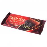 Շոկոլադե սալիկ «Roshen Classic» մուգ շոկոլադ 70% 90գ