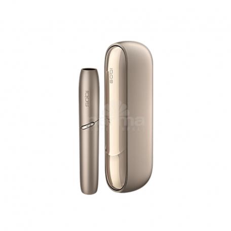Ծխախոտի տաքացման համակարգի հավաքածու «IQOS 3 DUO Brilliant Gold»