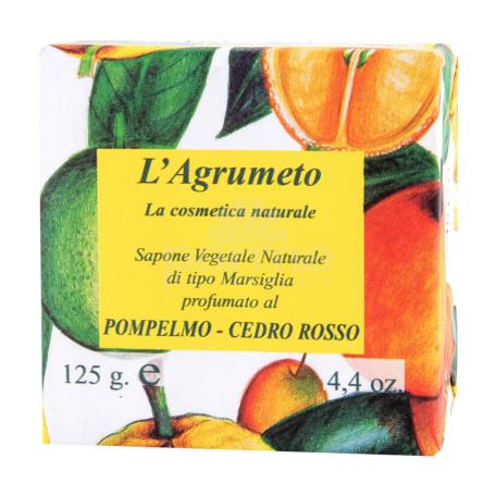 Օճառ «Iteritalia Pompelo Cedro Rosso» 125գ