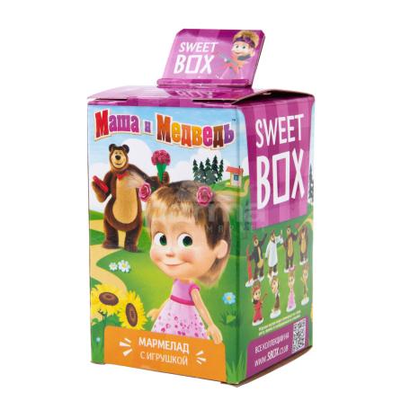 Կոնֆետ-խաղալիք «Sweet Box» մաշան և արջը 10գ