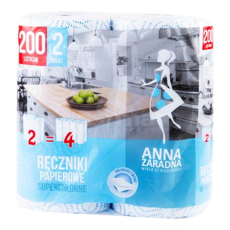 Թղթե սրբիչ «Anna Zaradna» 2 հատ
