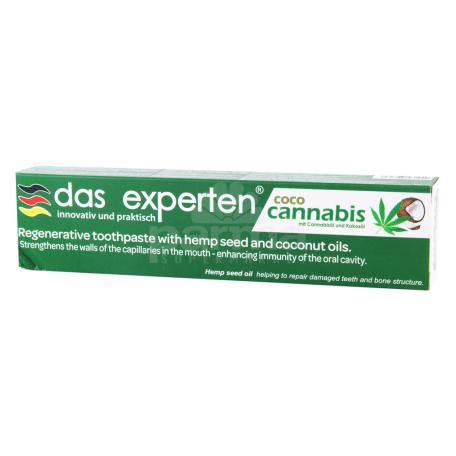 Ատամի մածուկ «Das Experten» կանեփ, կոկոս 70մլ