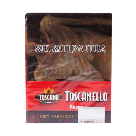 Սիգար  TOSCANO  5հատ toscanello rosso