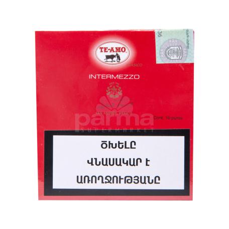 Սիգար  TE-AMO  10հատ intermezzo