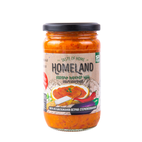 Խավիար սմբուկի «Homeland» կծու 390գ