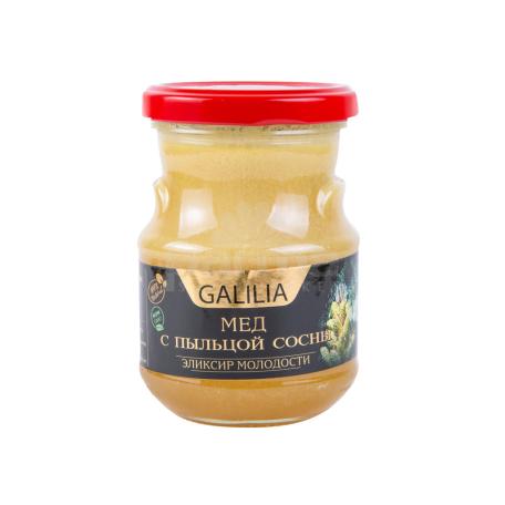 Մեղր «Գալիլիա» սոճենու ծաղկեփոշով 350գ