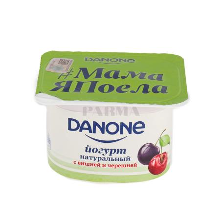 Յոգուրտ «Danone» բալ, կեռաս 2.9% 110գ