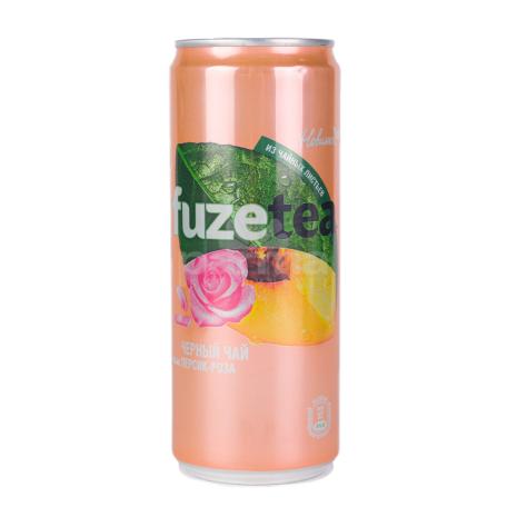 Թեյ սառը «Fuzetea» դեղձ, վարդ 330մլ