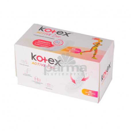 Միջադիր ամենօրա  KOTEX  active deo 48հատ