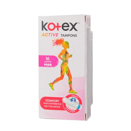 Տամպոններ «Kotex Active Super»