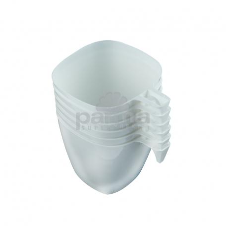 Միանգամյա օգտ. բաժակ  ՓԱՍՔՈՆՈ  6հատ թեյի սպիտակ 200մլ