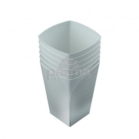 Միանգամյա օգտ. բաժակ  ՓԱՍՔՈՆՈ  6հատ սպիտակ 200մլ