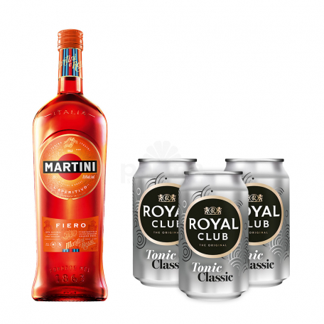 Վերմուտ «Martini Fiero» + 3հ tonic 750մլ