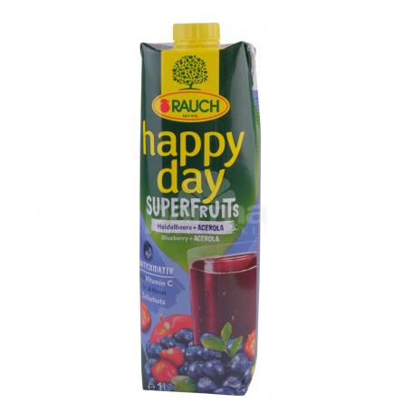 Հյութ բնական «Happy Day» հապալաս, ացերոլա 1լ