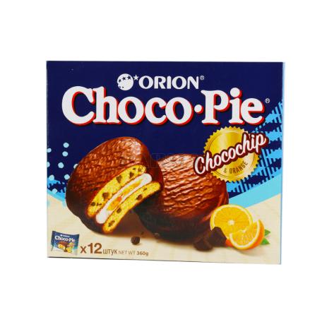 Թխվածքաբլիթ «Choco-Pie Orion» նարինջ 360գ