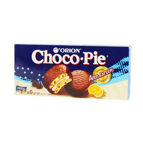 Թխվածքաբլիթ «Choco-Pie Orion» նարինջ 180գ