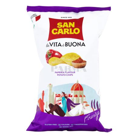 Չիպս «San Carlo la Vita è Buona» պապրիկա 150գ