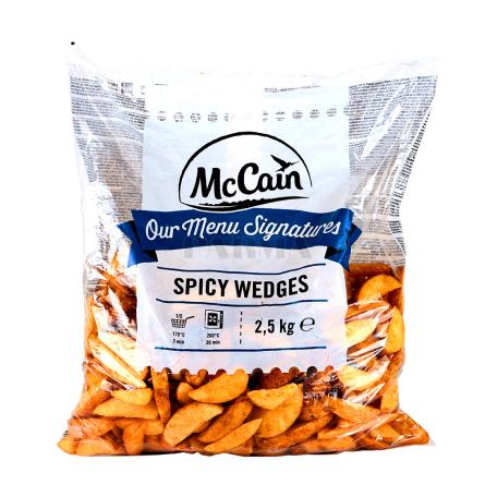 Կարտոֆիլ ֆրի սառեցված «McCain» գյուղական, համեմունքներով 2.5կգ