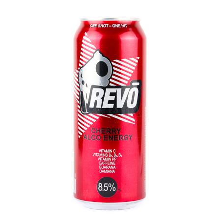 Էներգետիկ ըմպելիք «Revo Energy Cherry» 500մլ