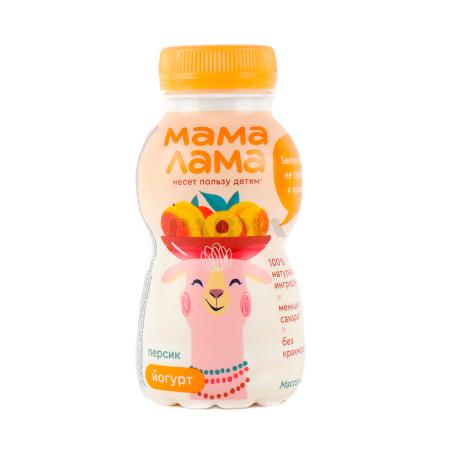 Յոգուրտ ըմպելի «Epica Мама Лама» դեղձ 2.5% 200գ