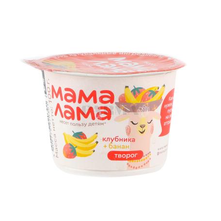 Կաթնաշոռ «Epica Мама Лама» ելակ, բանան 3.8% 100գ