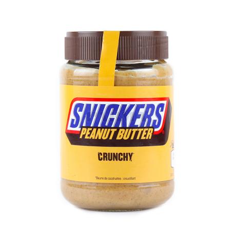 Կարագ-կրեմ գետնանուշի «Snickers» 320գ