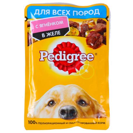 Շան խոնավ կեր «Pedigree» գառան մսով 85գ