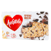 Թխվածքաբլիթ-մյուսլի «Любятово» վարսակ, շոկոլադ 120գ