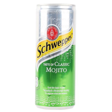 Զովացուցիչ ըմպելիք «Schweppes Mojito» 250մլ