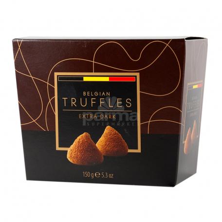Շոկոլադե կոնֆետներ «Belgian Truffles Extra Dark» 150գ