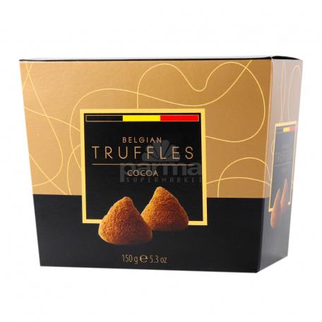 Շոկոլադե կոնֆետներ «Belgian Truffles» կակաո 150գ