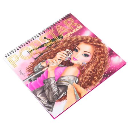 Գունազարդման գիրք «Top Model»