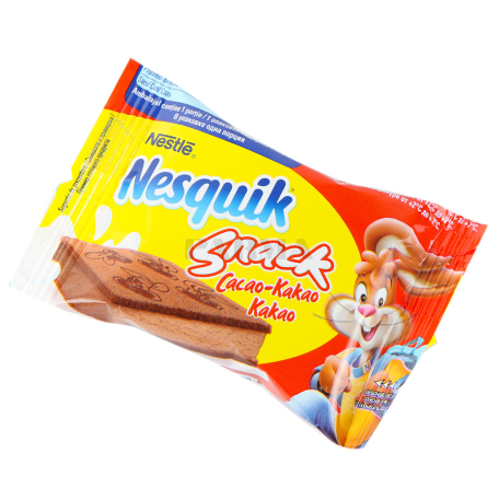 Բիսկվիթ «Nesquik Snack Cacao» կակաո 26գ