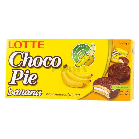 Թխվածքաբլիթ «Choco-Pie» բանան 168գ