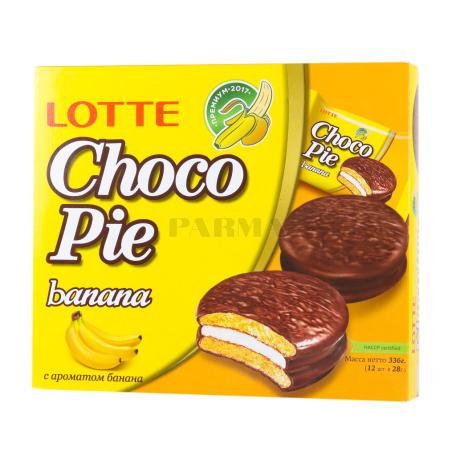Թխվածքաբլիթ «Choco-Pie» բանան 336գ