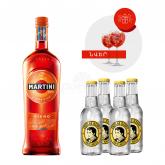 Վերմուտ «Martini Fiero» + 4հ tonic, + 2հ բաժակ 750մլ