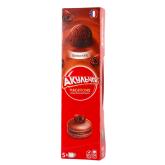 Թխվածքաբլիթ «Акульчев» նուշ, շոկոլադ 60գ